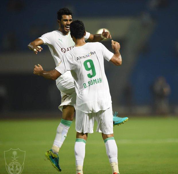 بالصور ....الأهلى يفوز علي الاتفاق فى مباراة شهدت رقم قياسى للسومة