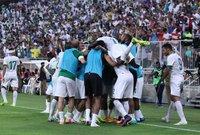 صور من مباراة السعودية والإمارات