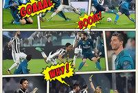 العدد الأول من مجلة رياضة - الصفحة الأولى مباراة : يوفنتوس× ريال مدريد