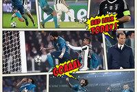 العدد الأول من مجلة رياضة - الصفحة الرابعة مباراة : يوفنتوس× ريال مدريد