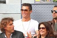 رونالدو في مباراة التنس