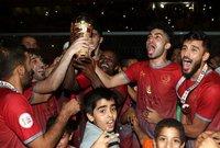 لخويا بطلا لكأس قطر للمرة الأولي في تاريخة