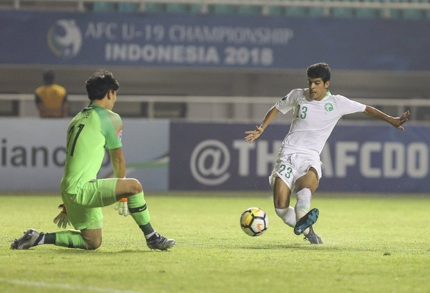 دور المجموعات .. السعودية فوز : أمام ماليزيا 2-1