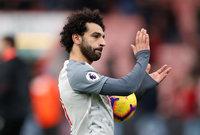 محمد صلاح هو أول لاعب من ليفربول يحرز هاتريك خارج ملعب فريقه في البريميرليج ، منذ لويس سواريز ضد كارديف سيتي في مارس 2014
