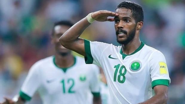 نواف العابد نجم المنتخب السعودي