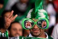 لقطات من مباراة السعودية وقطر