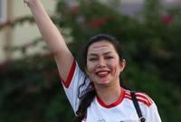 جميلات المدرجات يخطفن الأضواء من نجوم كأس آسيا 2019