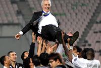 قاد الشباب السعودي واستطاع الحصول معه علي المركز الرابع في الدوري السعودي والوصول لنصف نهائي دوري أبطال آسيا