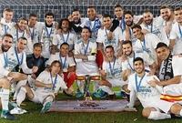 ريال مدريد الإسباني في المركز الأول برصيد 184 نقطة