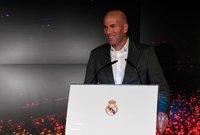 صور من مؤتمر تقديم زيدان مدربًا جديداً لريال مدريد