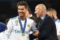 تعادل ريال مدريد مع زيدان في 29 مباراة