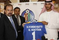 الإماراتي بطى بن سهيل آل مكتوم - مالك نادي خيتافي الإسباني