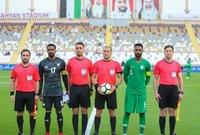 لقطات من مباراة الأشقاء السعودية والإمارات بانتصار الأبيض الإماراتي