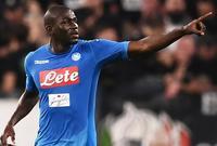 جماهير إنتر ميلان في مباراة لهم أمام فريق نابولي قامت بحركات إستفزازيه  للاعب نابولي الإيطالي كوليبالي