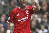 ميدو كان لاعبًا لميدلزبره وكانت هناك مواجهة بينه وبين فريق نيوكاسيل في 2008