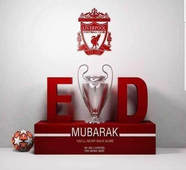 ليفربول يهنئ المسلمين بحلول عيد الفطر المبارك