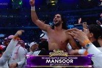 منصور الشهيل كان نحيل الجسد في طفولته ولكنه يحب لعبة المصارعة الإلكترونية وكان يتخيل نفسه أنه سيكون مصارعًا في يوم من الأيام
