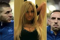 تعرض كريم بنزيما اتهام في 2010 هو وزميله الفرنسي فرانك ريبيري من جانب فتاة قاصرة