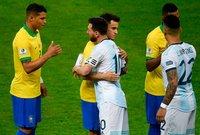 تعرض المنتخب الأرجنتيني لهزيمة ثقيلة أمام البرازيل في نصف نهائي كوبا أمريكا