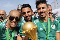 استقبل الجمهور الجزائري لاعبي منتخب بلاده استقبال الأبطال بعد تتويجهم بلقب كأس الأمم الأفريقية