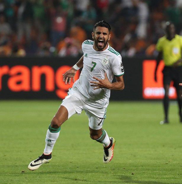 رياض محرز - الجزائر