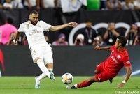 فاز فريق بايرن ميونخ الألماني على نظيره ريال مدريد الإسباني بثلاثية لهدف، خلال المباراة التي جمعت بين الفريقين.