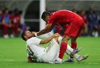 شهدت المباراة طرد لزفن أورليخ لاعب بايرن ميونخ في الدقيقة 81.