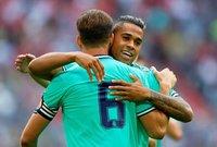 فاز فريق ريال مدريد الإسباني بخمسة أهداف مقابل ثلاثة على فريق فنربخشة التركي، في المباراة التي جمعت بين الفريقين، مساء اليوم، في مباراة تحديد المركز الثالث بكأس أودي الودية.