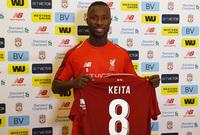 نابي كيتا لاعب نادي ليفربول قادمًا من نادي لايبزج مقابل 64 مليون يورو